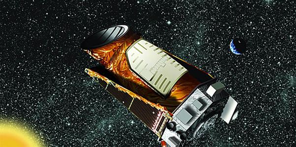 Telescopul Kepler - desen