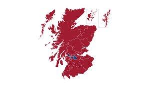 Care sunt regiunile din Scoţia care au votat pentru independenţă