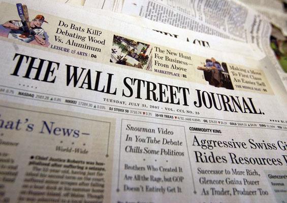 Top trei subiecte �n The Wall Street Journal de astăzi