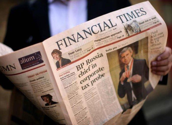 Top trei subiecte �n Financial Times de astăzi