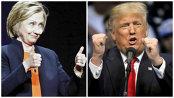 VIDEO. Bătălia replicilor dintre Clinton şi Trump