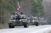 ULTIMĂ ORĂ: Se pregăteşte Europa de război? Marea Britanie trimite tancuri, drone şi soldaţi la graniţa cu Rusia