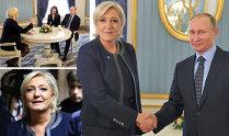 """Lovitură de teatru la Moscova: Preşedintele Putin vrea să facă jocurile pentru Europa şi s-a întâlnit la Kremlin cu Marine Le Pen, """"spaima"""" Uniunii Europene, care vrea să ajungă preşedinte în Franţa"""