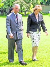 Principesa Margareta s-a reîntâlnit astăzi cu Prinţul Charles, care a fost la un pas să o însoţească la altar în tinereţe
