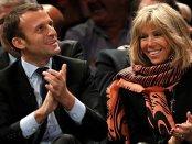 Cum arată soţia lui Emmanuel Macron, cea care are cele mai mari şanse să devină Prima Doamnă a Franţei. Galerie FOTO