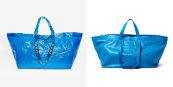 Un brand de fashion de lux a lansat o geantă de 2.145 de dolari care arată aproape identic cu sacoşa Ikea de 99 de cenţi. Răspunsul IKEA a ajuns viral