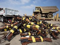 """Peste 28.000 de arme de foc deţinute ilegal au fost predate în cadrul celui mai mare program de """"graţiere"""" împotriva armelor de foc din Australia"""