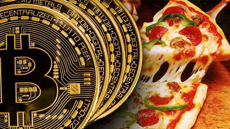 pizza pentru bitcoini