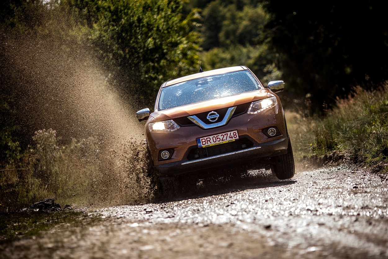 Test Auto ZF: Nissan X-Trail, off-roaderul de familie. GALERIE FOTO