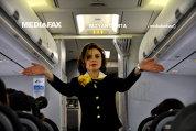 Confesiunile unei stewardese românce care a lucrat la o companie aeriană care plăteşte salarii de peste 1.300 de euro