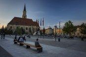 Primăria Cluj-Napoca a investit 1,4 mil. lei pentru modernizarea Pieţei Unirii