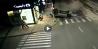 Accident auto demn de cascadoriile de la Hollywood, într-o intersecţie din România. VIDEO camere de supraveghere