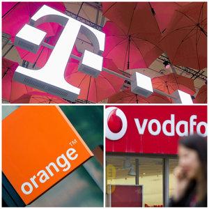 Ce servicii primesc pentru acelaşi tarif clienţii de la Orange, Vodafone şi Telekom