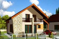 Un bărbat din Zalău a inventat casa care se construieşte în 6 zile şi e mai ieftină decât o casă normală