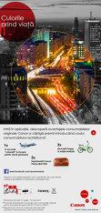 (P) Canon prezintă avantajele consumabilelor originale într-o aplicaţie online interactivă – Culorile prind viaţă