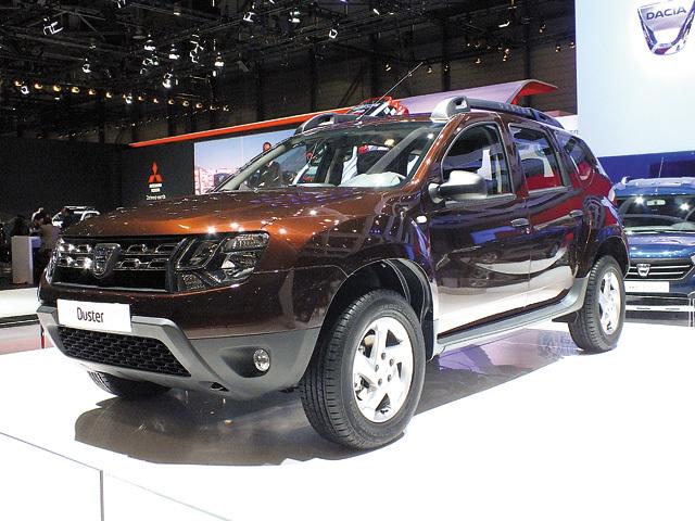 Dacia a lansat la Geneva nuanţa de maro tourmaline la modelul Duster şi transmisii robotizate Easy-R pentru Logan şi Sandero
