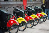 Bucureştenii pot închiria biciclete în regim bike-sharing