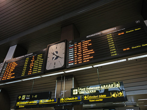 Top zece cele mai aglomerate rute de pe aeroportul Otopeni: podiumul, exclusiv extern
