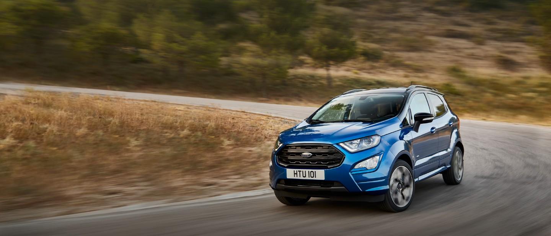 SUV-ul EcoSport produs la Craiova a fost cel mai bine vândut Ford pe piaţa locală în septembrie