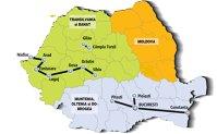 """""""Marea împărţeală"""" a asfaltului. Transilvania şi Banatul au luat 1 mld. euro pentru autostrăzi şi drumuri naţionale în trei ani. Moldova este elevul """"repetent"""", care a primit doar 100 mil. euro"""
