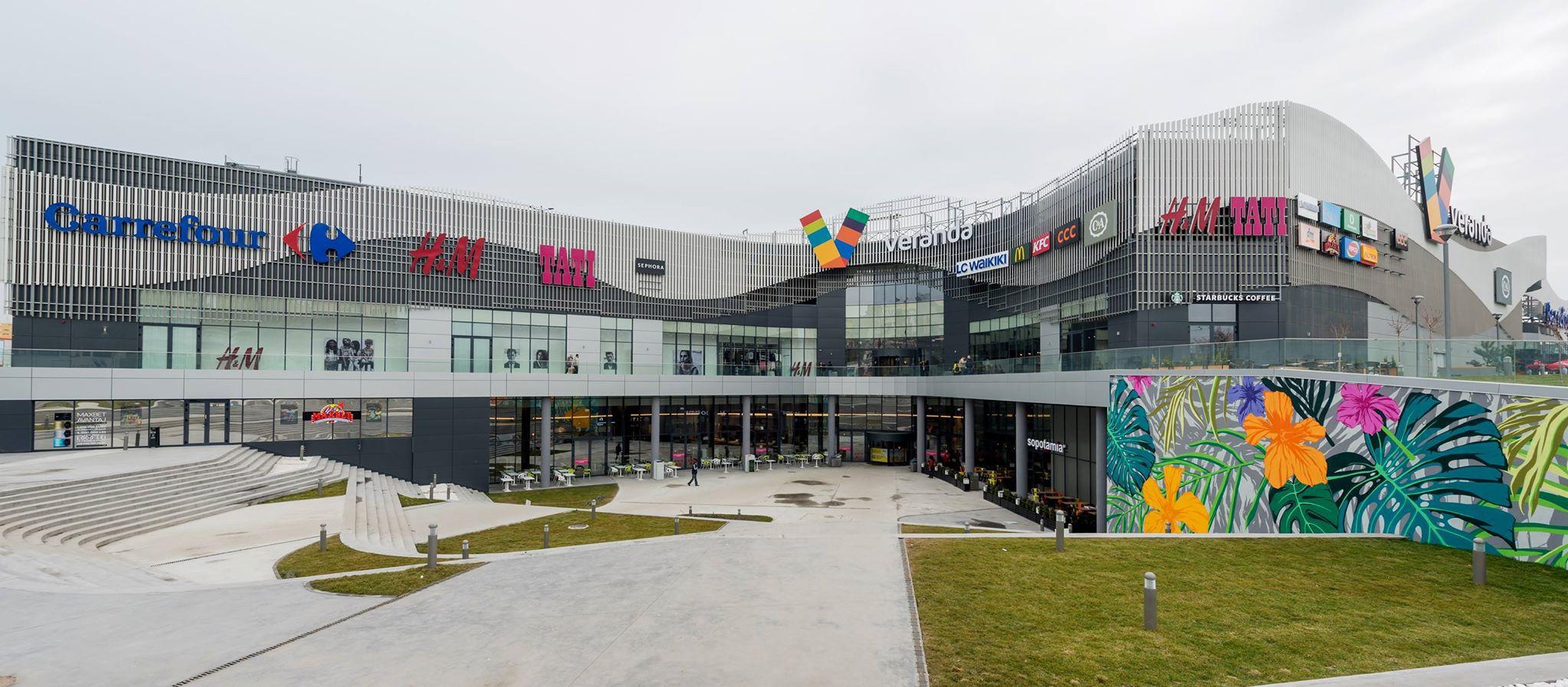 Centrul comercial Veranda din zona Bucur Obor a mai atras trei chiriaşi noi
