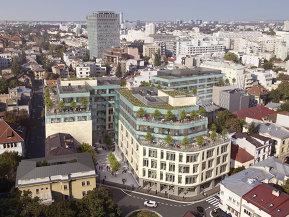 Birourile Landmark din Piaţa Romană au primii chiriaşi. Gradul de ocupare al proiectului merge spre 60%