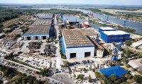 Şantierul naval Vard Tulcea a adus şi din Polonia sudori şi lăcătuşi până când reuşeşte să importe 300 de muncitori din Vietnam