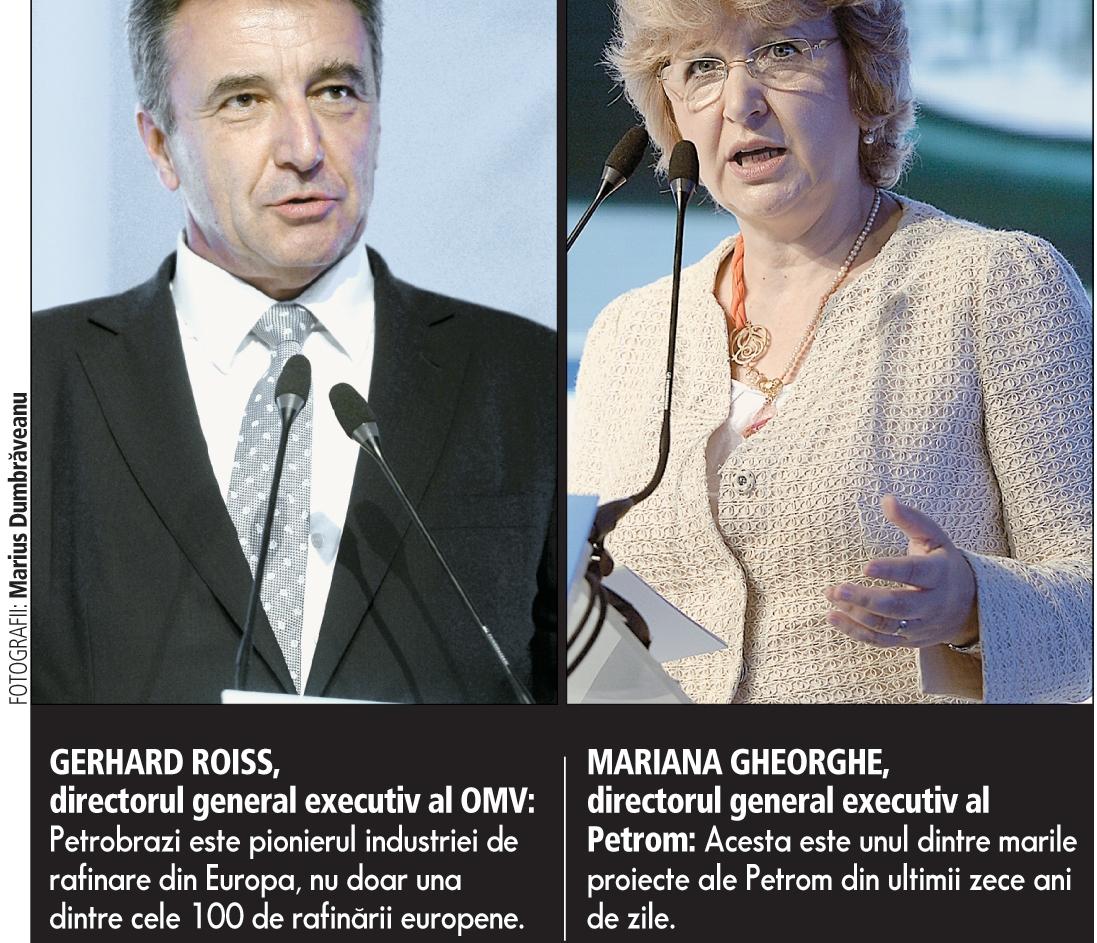 Petrom poate alimenta jumătate din parcul auto din România după investiţii de 600 de milioane de euro la Petrobrazi