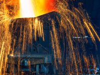 Reindustrializarea României. Producţia de oţel a ajuns la 3,4 mil. tone anul trecut, de trei ori mai puţin faţă de 1990