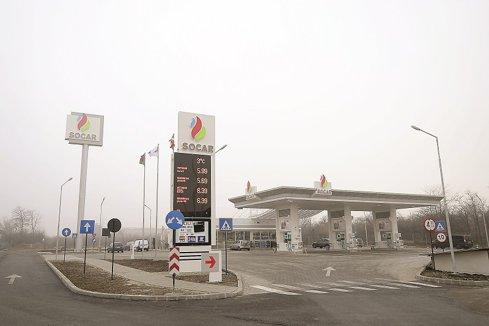 Benzinăriile Socar au înregistrat afaceri de 127 mil. euro în 2016, în scădere cu 7%