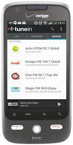 Aplicaţia zilei: TuneIn Radio