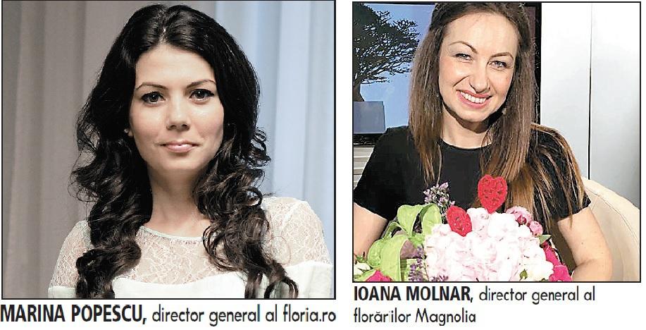 Floria.ro şi Magnolia.ro: Comenzile online de flori au explodat de 1-8 martie: a crescut  numărul şi valoarea comenzii