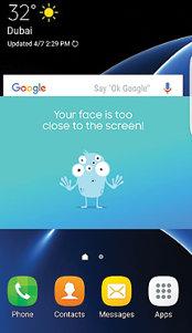 Aplicaţia zilei: Samsung Safety Screen