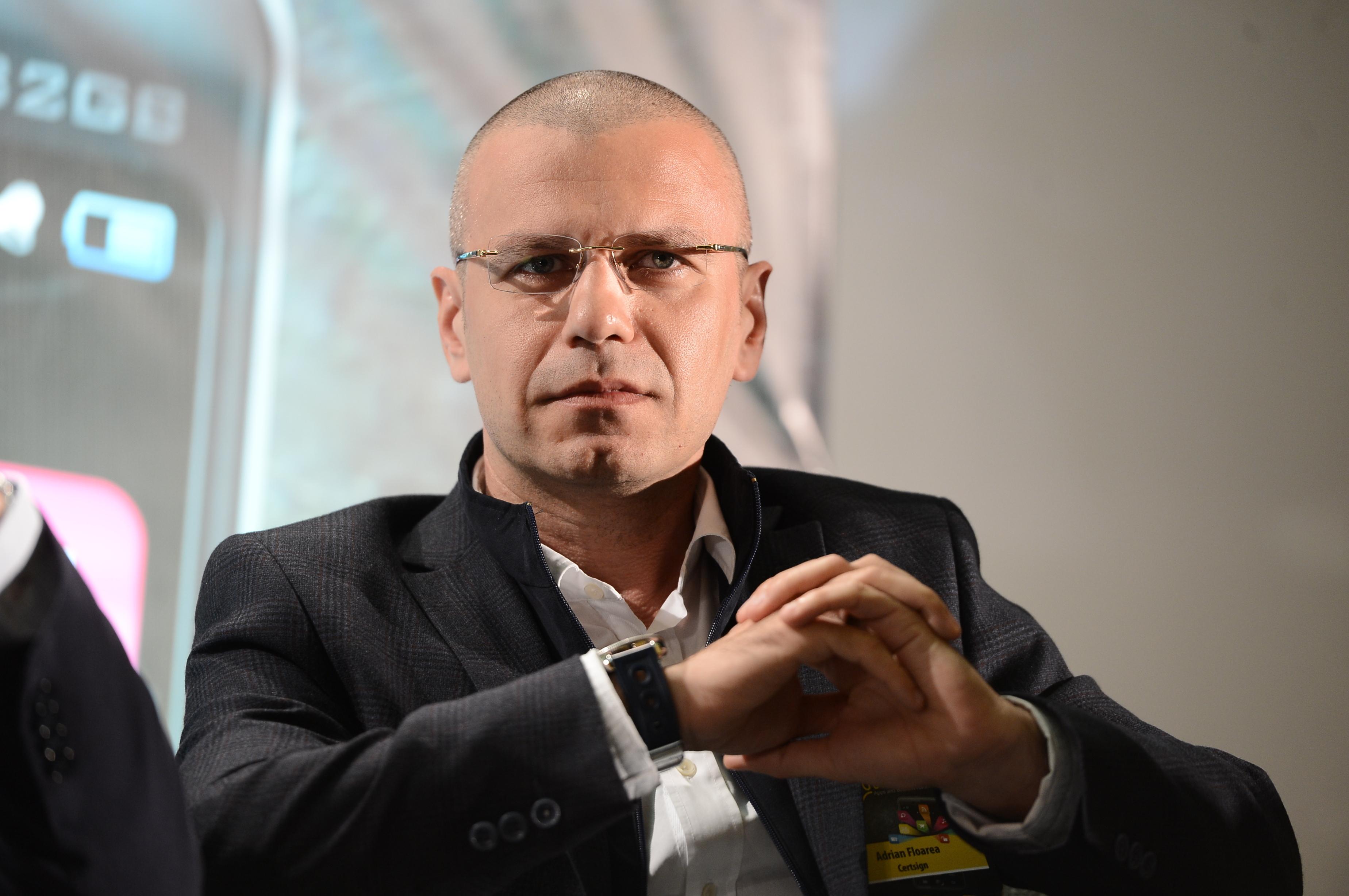 """Adrian Floarea, CEO certSIGN: Tot mai multe companii sunt interesate de """"go paperless"""". Anul acesta vom creşte cel mai mult pe partea de securizare a dispozitivelor mobile"""