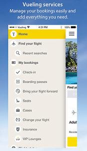 Aplicaţia zilei: Vueling - Cheap Flights