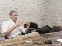 """Bob van Dijk, CEO Naspers: """"M-am întâlnit cu antreprenori care au afaceri evaluate la 200 de miliarde de dolari. Ce am observat este că ei nu discută niciodată despre cifre, despre finanţe, ci despre produs, despre experienţa clientului"""""""