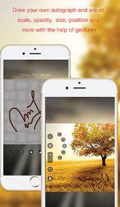 Aplicaţia zilei: eZy Watermark lite - Photo Watermarking App