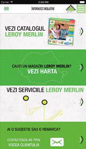 Aplicaţia zilei: Leroy Merlin RO