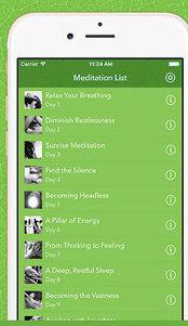 Aplicaţia zilei: Osho Meditation for Busy People