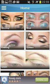 Aplicaţia zilei: Eye Makeup Step By Step