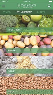 Aplicaţia zilei: Food Monster: Vegan Recipes
