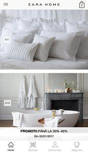 Aplicaţia zilei: Zara Home