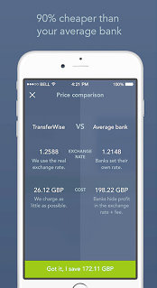 Start-up-ul TransferWise a lansat serviciul de transfer de bani prin aplicaţia de chat a Facebook, inclusiv pentru utilizatorii din România