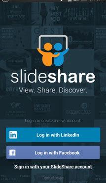 aplicaţia zilei linkedin slideshare ziarul financiar