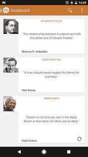 Aplicaţia zilei: Brilliant Quotes & Quotations