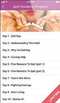 Aplicaţia zilei: Quit Smoking in 28 Days Easy Stop Audio Course