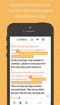 Aplicaţia zilei: Beelinguapp: Learn Languages with Audio Books