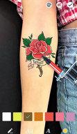 Aplicaţia zilei: Tattoo Maker