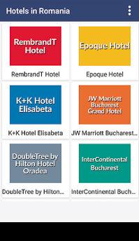 Aplicaţia zilei: Hotels in Romania - Bucharest Hotels