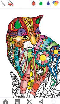 Aplicaţia zilei: Mandala coloring book for adults